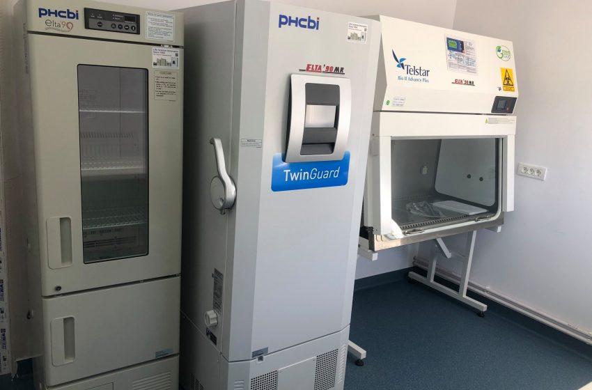 Laborator genetic de ultimă generație la Targu Jiu