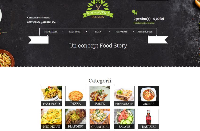 PRIMAVERII DELIVERY – cea mai noua platforma de catering din Targu Jiu