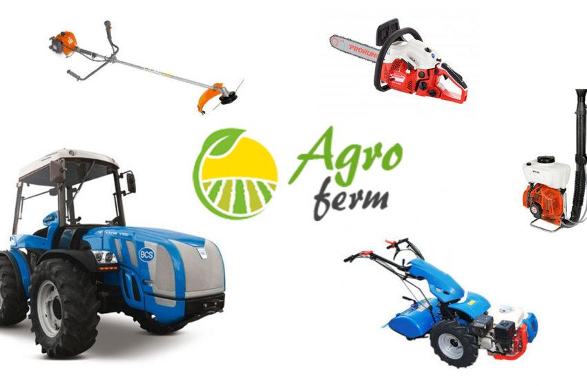 AGROFERM aduce in Gorj cele mai bune marci de UTILAJE pentru AGRICULTURA