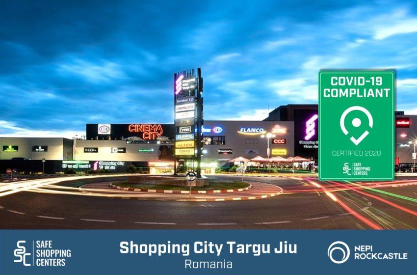 Shopping City Targu Jiu: Certificat international pentru masurile de preventie COVID-19