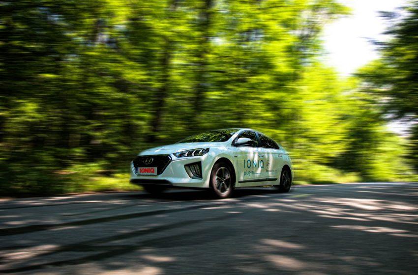 Test drive Targu Jiu -Tismana cu Ioniq Plug-In – bijuteria hi-tech a celor de la Hyundai