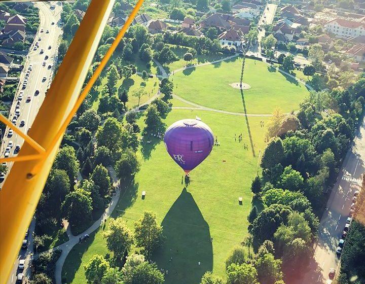 """Zbor cu balonul """"imi pasa de Gorj""""- un eveniment inedit si de succes"""