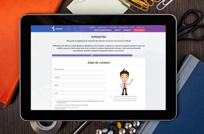 Softlead lanseaza primul instrument de scoring al gradului de digitalizare din companii