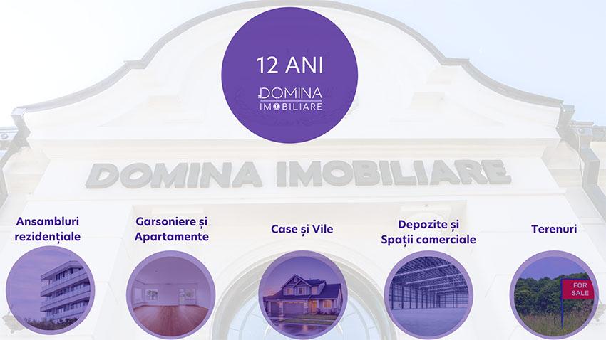 Domina Imobiliare anunta cele mai importante cifre ale celor 12 ani de experienta pe piata imobiliara din Oltenia