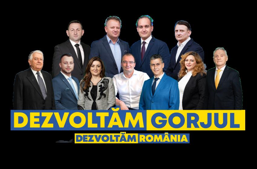 Cine sunt liberalii gorjeni care din postura de deputat, vor implementa proiectul #DezvoltamRomania?