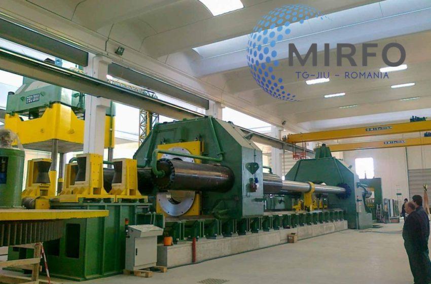 MIRFO – Cea mai mare uzina din Targu-Jiu si-a lansat de curand noul site