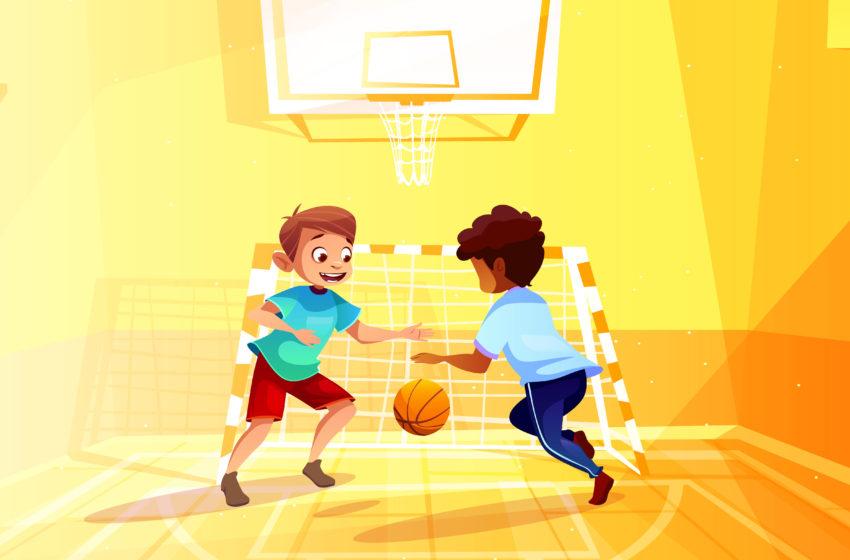 Baza sportiva moderna la o scoala din Gorj