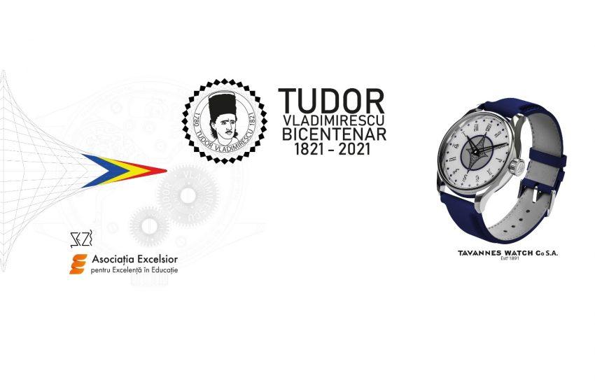 Ceas in editie limitata pentru marcarea bicentenarului Tudor Vladimirescu