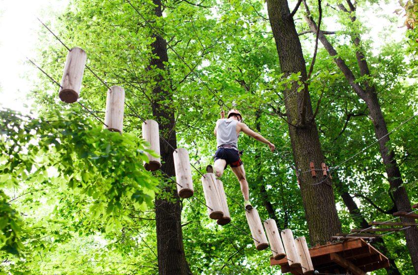 Cel mai mare parc de aventura din Oltenia se afla in Gorj – Aventerra Park