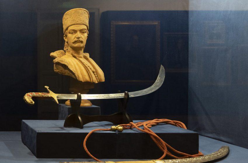 Sabia lui Tudor Vladimirescu va fi expusa la Targu Jiu